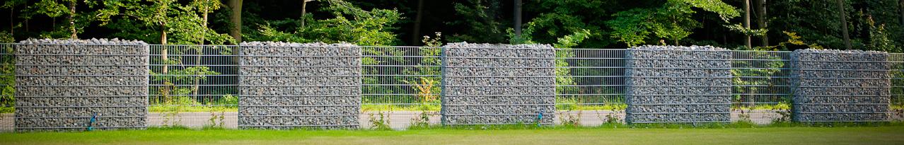 ogrodzenie gabionowe redhen